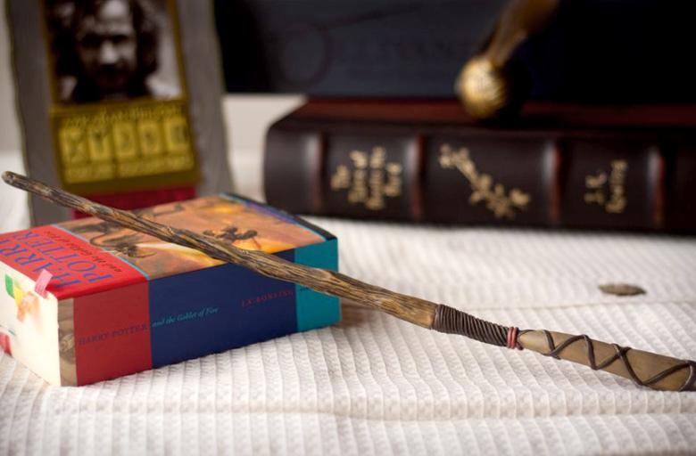 как сделать волшебную палочку настоящую