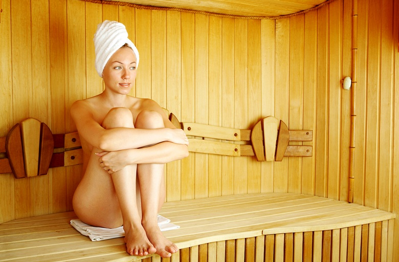 Женской фото сауне в