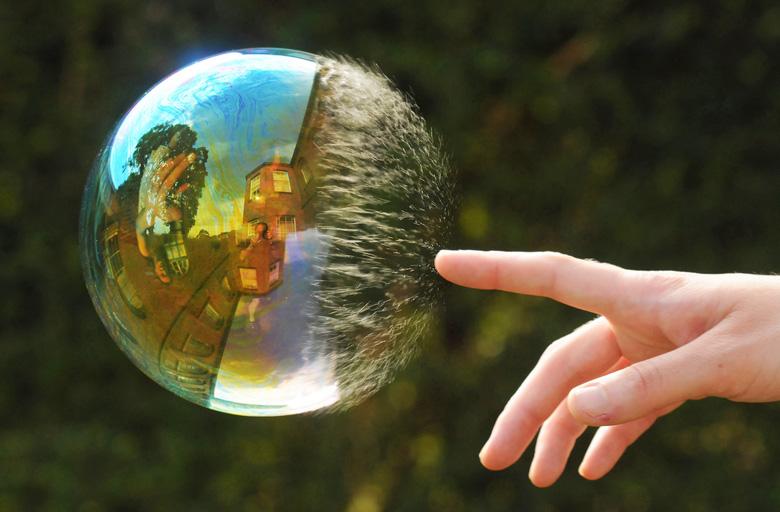Как сделать мыльные пузыри в