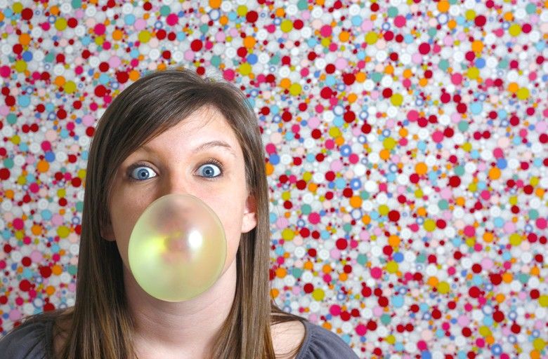 пузырь из жвачки как надуть