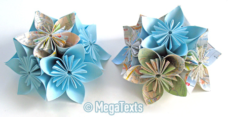 оригами кусудама фото